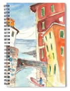 Camogli In Italy 04 Spiral Notebook