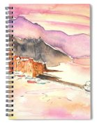 Camogli In Italy 06 Spiral Notebook
