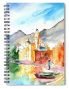 Camogli In Italy 11 Spiral Notebook