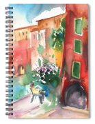 Camogli In Italy 12 Spiral Notebook