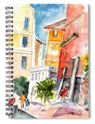Camogli In Italy 13 Spiral Notebook