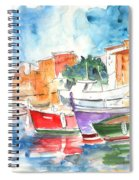 Camogli In Italy 14 Spiral Notebook
