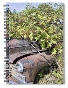 Camouflaged Car Spiral Notebook