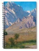 Camp Independence Colorado Spiral Notebook