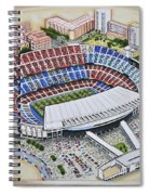 Camp Nou - Barcelona Fc Spiral Notebook