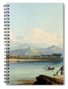 Camp Of The Gros Ventres Of The Prairies Spiral Notebook