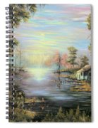 Camp On The Bayou Spiral Notebook