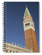 Campanile In Venice Spiral Notebook