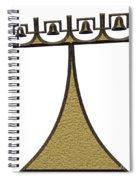 campanile - landmark of Brasilia city Spiral Notebook