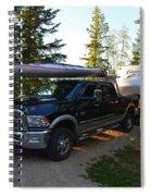Camping 42 Spiral Notebook