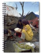 Camping In Iraq Spiral Notebook