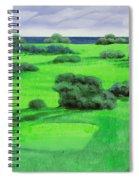 Campo Da Golf Spiral Notebook