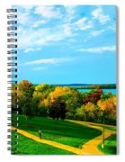 Campus Fall Colors Spiral Notebook