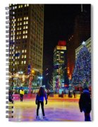 Campus Marcus Winter Night  Spiral Notebook