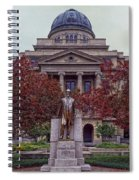 Campus Of Texas Am Spiral Notebook