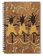 Can Can Dancers Spiral Notebook
