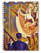 Can Can Le Chahut Spiral Notebook