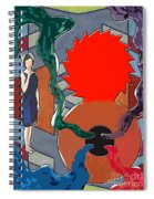 Can Of Worms Spiral Notebook