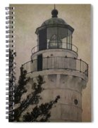 Cana Island Light Spiral Notebook