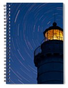 Cana Island Lighthouse Solstice Spiral Notebook