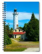 Cana Island Wi Lighthouse Spiral Notebook