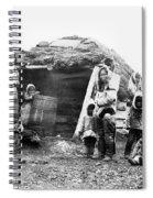 Canada Eskimo Family, 1860 Spiral Notebook