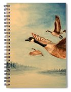 Canada Geese Spiral Notebook