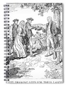 Canada: Loyalists, 1784 Spiral Notebook