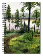Canada Morning Spiral Notebook