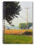 Canada Rural Scene Spiral Notebook