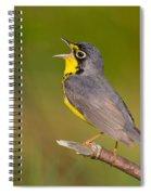 Canada Warbler Spiral Notebook