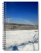 Canadain Rainbow Spiral Notebook