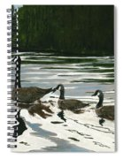 Canadas On Wilson Lake Nc Spiral Notebook