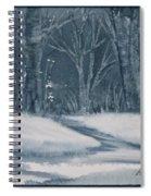Canadian Backyard Spiral Notebook