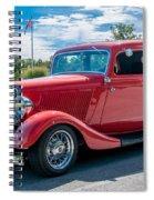Canadian Beauty 3d21748 Spiral Notebook