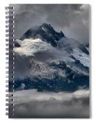 Canadian Coastal Mountain Peaks Spiral Notebook