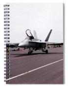 Canadian F-18 Spiral Notebook