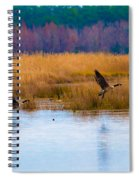 Canadian Flight Spiral Notebook