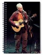 Canadian Folk Rocker Bruce Cockburn In 2002 Spiral Notebook