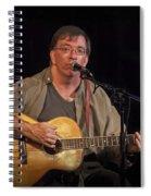 Canadian Folk Singer James Keeglahan Spiral Notebook