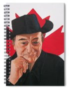Canadian Icon Stompin' Tom Conners  Spiral Notebook