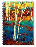 Canadian  Landscape Artist Carole Spandau Spiral Notebook