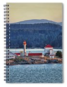 Canadian Lighthouses Sc3415-13 Spiral Notebook