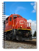 Canadian National Spiral Notebook