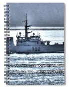 Canadian Navy Nanaimo M M702 Spiral Notebook