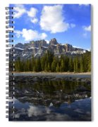 Canadian Rockies 8 Spiral Notebook