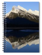 Canadian Rockies Mount Rundle 1 Spiral Notebook
