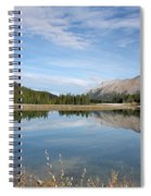 Canadian Rocky Mountains With Lake  Spiral Notebook