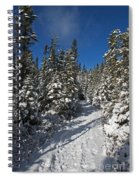 Canadian Winter Wonderland.. Spiral Notebook