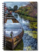 Canal Boat Spiral Notebook